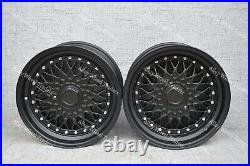 Alloy Wheels 17 RS For Ford Fiesta Focus Fusion Mondeo Orion Sierra 4x108 Black