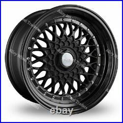 Alloy Wheels 17 RS For Mini R50 R52 R55 R56 R57 R58 R59 Clubman 4x100 Black 7.5