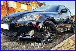 Alloy Wheels 18 02 For Mercedes C E Class Clc Clk Coupe Cabrio 5x112 Wr Black