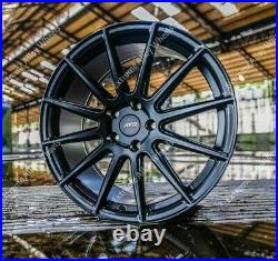 Alloy Wheels 18 For Vauxhall Vivaro Commercially Rated 815kg Black 02 5x118 Wr
