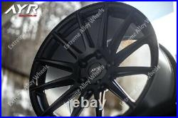 Alloy Wheels 18 For Vw T5 T6 T28 T30 T32 Commercially Rated 815kg Black 02 Wr