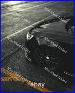 Alloy Wheels 18 LG2 For 5x100 Audi A1 A2 A3 2003 TT Roadster 2006 Black
