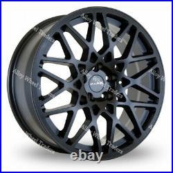 Alloy Wheels 18 LG2 For 5x100 VW Bora Corrado Golf Mk4 Beetle Polo Black