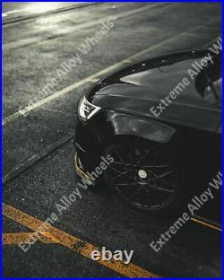 Alloy Wheels 18 LG2 For Vw Arteon Beetle Bora Caddy Cc Eos Golf 5x112 Black