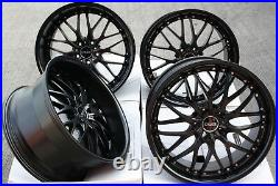Alloy Wheels 20 Cruize 190 MB Matt Black Deep Dish 5x120 Load Rated 20 Inch