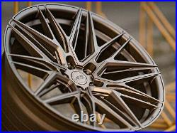 Alloy Wheels 20 For Vw T5 T6 T28 T30 T32 Commercially Rated 850kg Bronze 05 Wr