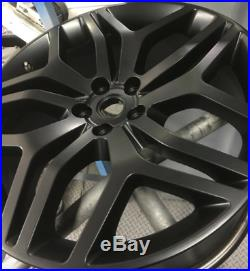 Alloy Wheels 4 x 22 Autobiography Sport Matt Black Range Rover Vogue & Sport