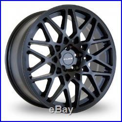 Alloy Wheels X 4 18 Black Lg-2 For 5x100 Seat Ibiza Leon Skoda Fabia