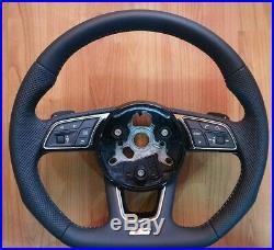 Audi 8V A3 S3 RS3 S Line flat bottom steering wheel paddles New
