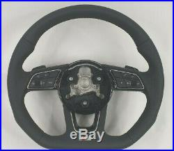 Audi 8W A4 A5 S4 S5 facelift S Line flat bottom steering wheel paddles