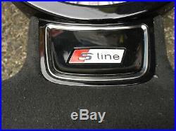 Audi A1 S1 A6 S6 A7 S7 Rs7 A8 S8 Dsg Custom Made Flat Bottom Steering Wheel