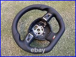 Audi A3 8p0 A5 S5 Q5 New Custom Made Flat Bottom Steering Wheel