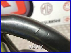 Audi A3 8p S Line 08-13 Black Leather Flat Bottom Steering Wheel Multifunction