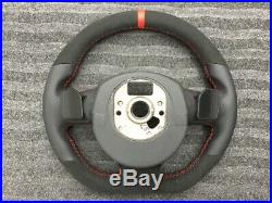 Audi A3 A4 A5 A6 Q7 A8 Dsg Paddle New Custom Made Flat Bottom Steering Wheel