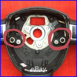 Audi A3 A4 A5 A6 Q7 A8 New Custom Made Flat Bottom Steering Wheel