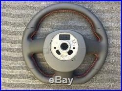 Audi A3 S3 A5 S5 Q5 New Custom Made Flat Bottom Steering Wheel