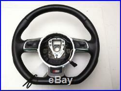 Audi Flat Bottom Steering Wheel A3 MK2 FL (8P) S Line 2012 8J0419091G WARRANTY