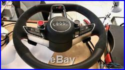 Audi R8 Multifunction Steering Wheel Flat Bottom with Airbag OEM 4S0419091E