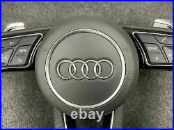 Audi RS4 RS3 S3 A3 A4 S4 A6 S6 Complete Flat Bottom Steering Wheel LHD