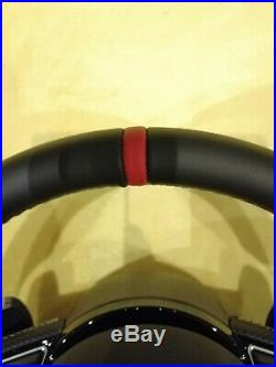 Audi S-line Flat Bottom Steering Wheel Rs5 Rs6 S3 Tts S6 S7 S4 S5 Ttrs Rs7 Rs4
