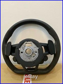 Audi TTRS TT 8S Alcantara Steering Wheel 2014-2019 Flat Bottom Multi Function