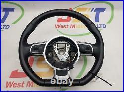 Audi Tt Sport Quattro 2006 2014 Mk2 (8j) 3 Spoke Flat Bottom Wheel 8j0419091