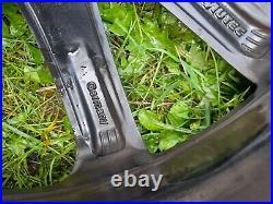 Autec Skandic 18 5x112 Matt Black Alloy Wheels Vw Tiguan Audi Q3 W Good Tyres