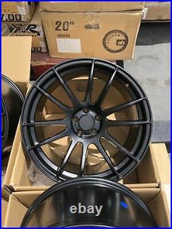 Avid1 AV20 18X9.5 Rims 5x100 +38 Black Wheels (Set of 4)