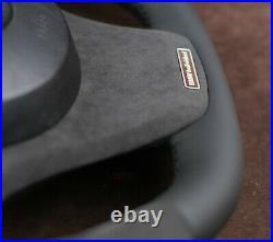 BMW CUSTOM STEERING WHEEL Flat bottom X5 E53 X3 E83 1999-2009 4,8is 4.6is 4,4 M