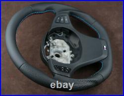 BMW CUSTOM STEERING WHEEL Thick Sport Flat bottom X5 E53 4,8is 4.6is M E83 X3