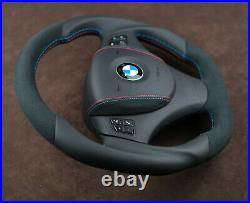 BMW Custom flat bottom thick steering wheel E90 E92 E81 E97 E82 M E93 E88 E81 m3