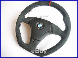 BMW E31 E36 E34 M Z3 E39 M-TECH steering wheel THICK SOFT FLAT BOTTOM