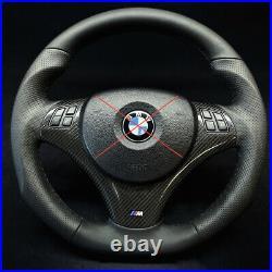 BMW E90 E82 E87 E93 E92 E81 E93 Steering Wheel M Sport Custom Made Flat Bottom