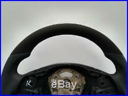 BMW E90 E91 E84 NEW NAPPA/ALCANTARA ERGONOMIC INLAYS SW FLAT BOTTOM non-sport
