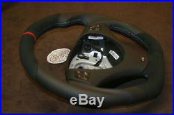 BMW E90 E92 E81 E97 E82 E93 M E88 THICK SOFT flat bottom custom steering wheel