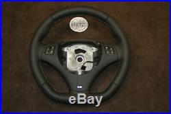 BMW E90 E92 E88 E97 E82 E93 E81 M THICK SOFT flat bottom custom steering wheel