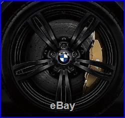 BMW F10 M5 OEM Genuine Style 343 20 M5 M Double Spoke Forged Wheels Matt Black