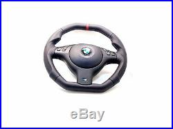 BMW M TECHNIC STEERING WHEEL E39 M5, E46 M3, FLAT BOTTOM, ERGONOMIC, Flat Top