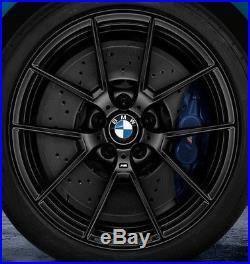 BMW OEM F80 F82 F83 F87 Style 763M 19 M2 M3 M4 M Y-Spoke Wheels Matte Black New