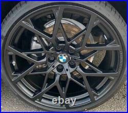 BMW OEM G20 G21 3 Series Style 795M Y-Spoke 20 Forged Wheel Set Matte Black New