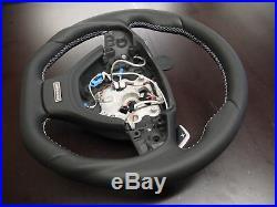 BMW Steering wheel F10 F11 F07 F12 F01 5 7 F02 GT paddle flat bottom Individual