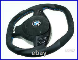 BMW custom Individual steering wheel flat bottom thick E46 E38 E39 E53 M3 M5 X5