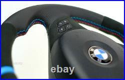 BMW custom M sports steering wheel flat bottom thick E90 E91 E92 E93 E87 E81 E88