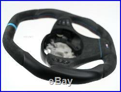 BMW custom steering wheel SMALLER Ø THICKER FLAT BOTTOM e53 e83 x5 4,8is 4,6is