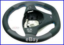 BMW custom steering wheel flat bottom thick soft M colored E91 E92 E82 E90 E87