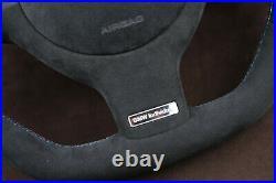 BMW custom steering wheel flat top & bottom thick soft E46 E38 E39 E53 M3 M5 X5