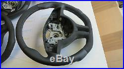 BMW e38 M M3 M5 7 e39 e46 e53 custom flat bottom steering wheel Thick Alcantara