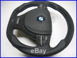 BMW steering wheel flat bottom thick custom Individual F10 F01 F11 F07 7 5 M