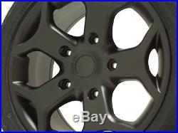 Black Alloy Wheels Ford Transit Custom ST Van Load Rated 1250kg Mk6 MK7 Tourneo