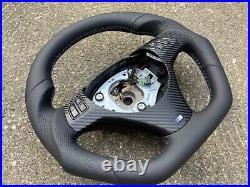 Bmw 1m M3 E87 E90 E91 E92 E93 New Flat Bottom Custom Made Steering Wheel